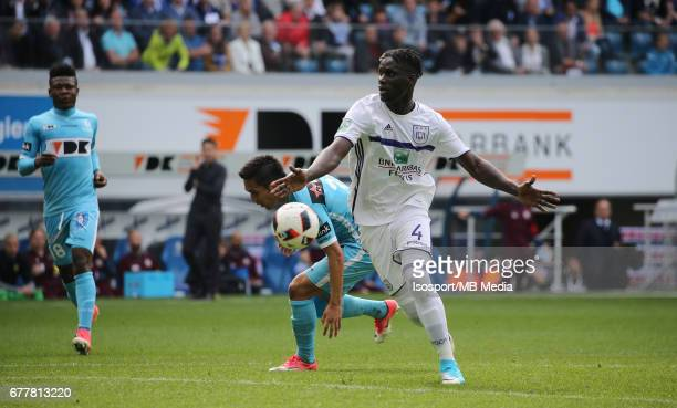 20170430 Ghent Belgium / Kaa Gent v Rsc Anderlecht / 'nKara MBODJI'nJupiler Pro League PlayOff 1 Matchday 6 at the Ghelamco Arena stadium / 'nPicture...