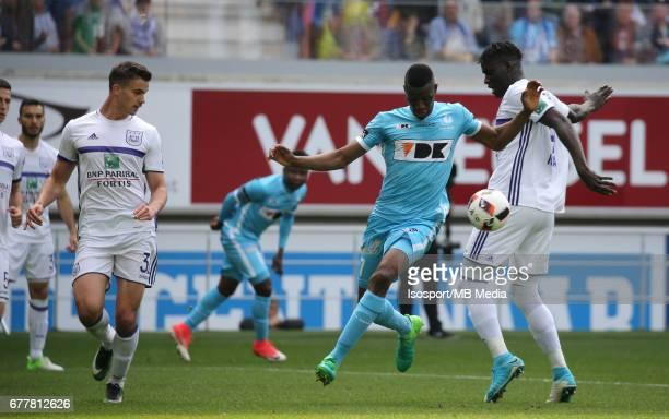 20170430 Ghent Belgium / Kaa Gent v Rsc Anderlecht / 'nLeander DENDONCKER Kalifa COULIBALY Kara MBODJI'nJupiler Pro League PlayOff 1 Matchday 6 at...