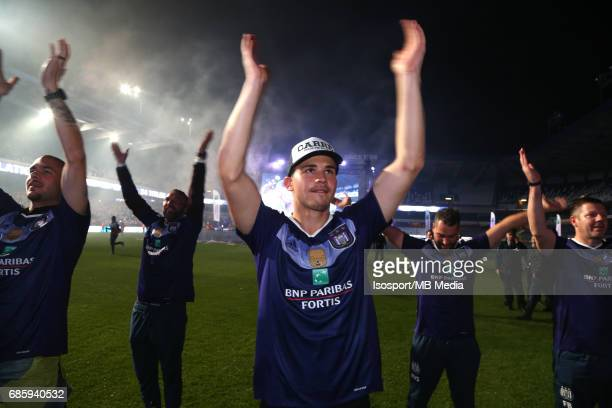 20170518 Ghent Belgium / Rsc Anderlecht Champion Party at the Constant Vanden Stock stadium/'nLeander DENDONCKER'nPicture by Vincent Van Doornick /...