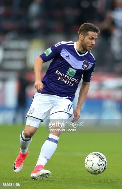 20170518 Ghent Belgium / Sporting Charleroi v Rsc Anderlecht /'nAlexandru CHIPCIU'nJupiler Pro League PlayOff 1 Matchday 9 at the Stade du Pays de...