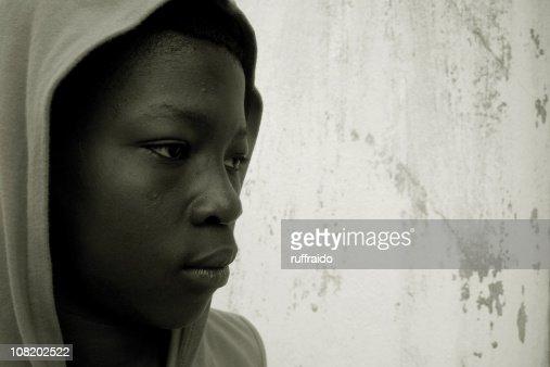 ghetto youth portrait