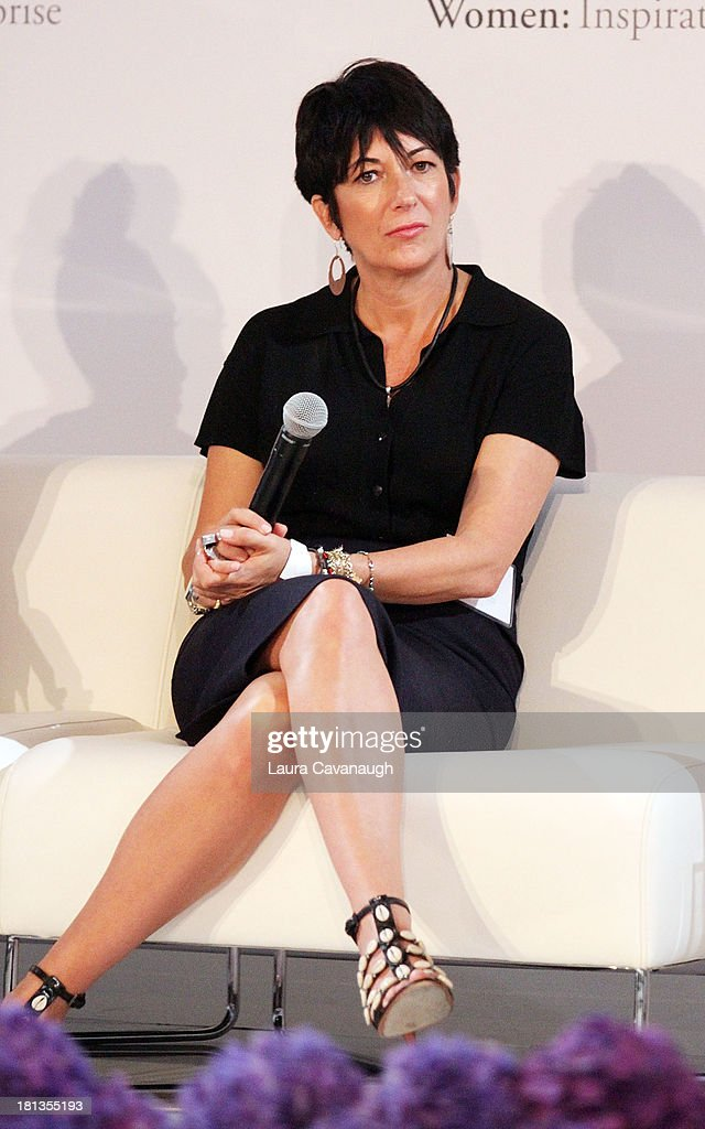<a gi-track='captionPersonalityLinkClicked' href=/galleries/search?phrase=Ghislaine+Maxwell&family=editorial&specificpeople=617483 ng-click='$event.stopPropagation()'>Ghislaine Maxwell</a> attends day 1 of the 4th Annual WIE Symposium at Center 548 on September 20, 2013 in New York City.
