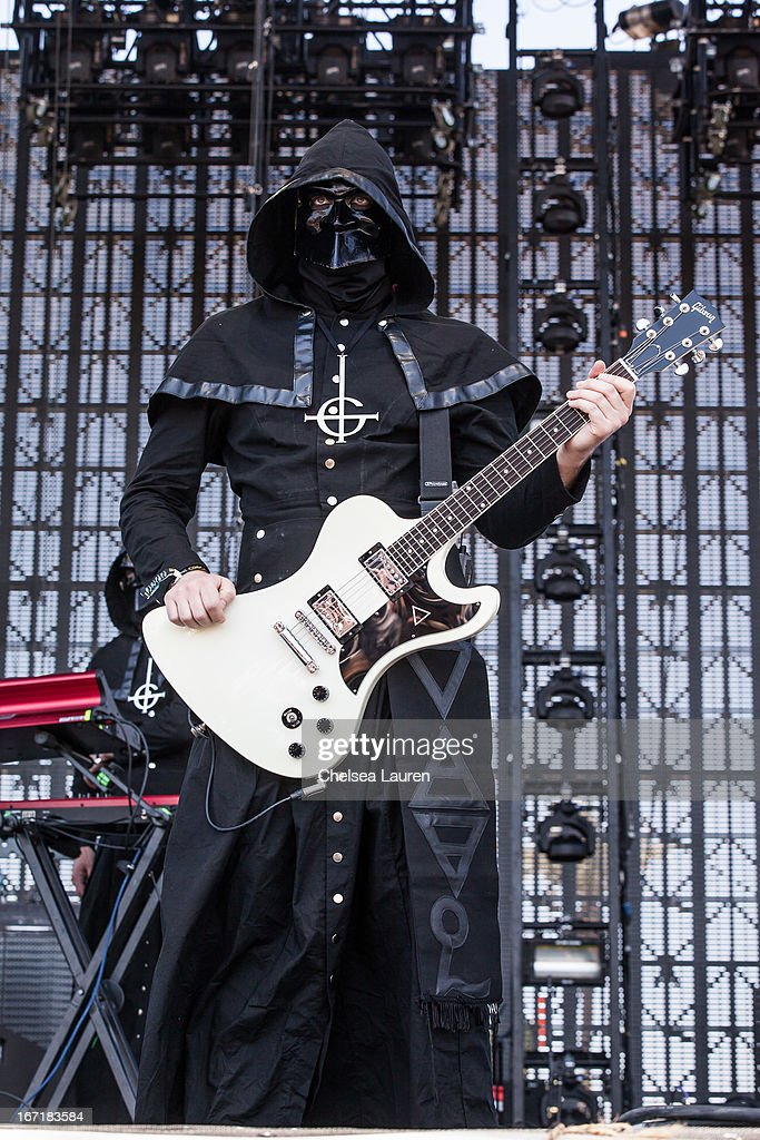 Ghost B.C. performs during the Coachella Valley Music & Arts Festival at The Empire Polo Club on April 21, 2013 in Indio, California.