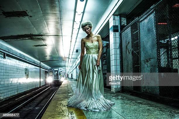 Ghost mariée dans le métro