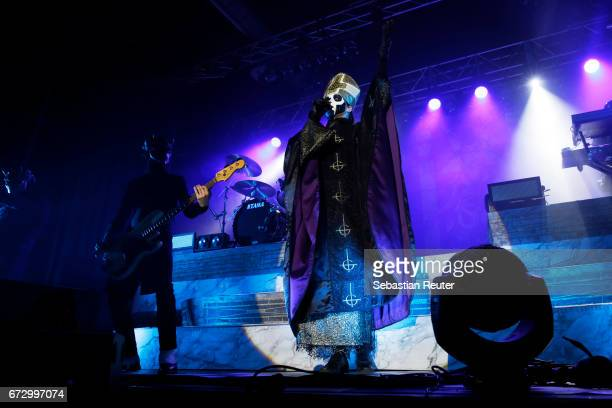 Ghost perform at Huxleys Neue Welt on April 25 2017 in Berlin Germany