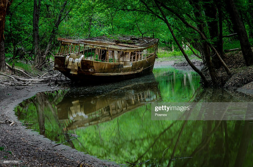Ghost ship of the woods