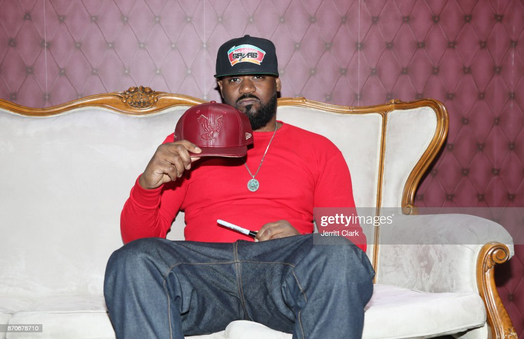 Ghostface Killah attends New Era Cap 2017 Complex Con Ambassador Collab lounge with A$AP Ferg, Mike Will Made-IT, Jerry Lorenzo, Takashi Murakami, and Ghostface Killah at Long Beach Convention Center on November 5, 2017 in Long Beach, California.