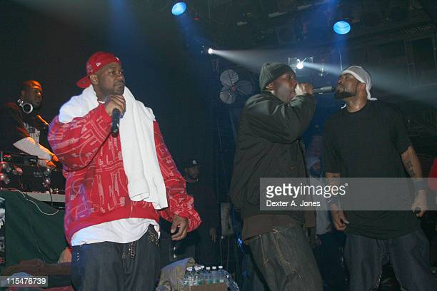Ghostface Killah The GZA and Method Man of WuTang Clan perform live at Toad's Place on January 13 2008 in New Haven Connecticut