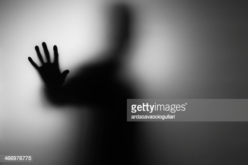 ghosts hand : Stock Photo