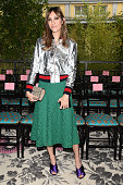 Gia Coppola arrives at the Gucci show during the Milan Fashion Week Spring/Summer 2016 on September 23 2015 in Milan Italy