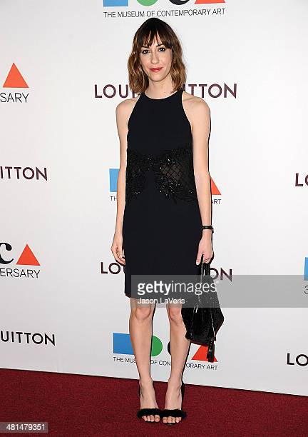 Gia Coppola attends the MOCA 35th anniversary gala celebration at The Geffen Contemporary at MOCA on March 29 2014 in Los Angeles California