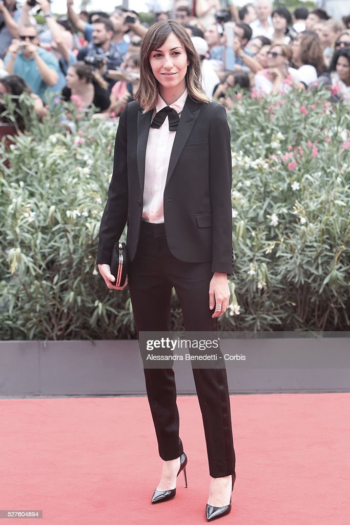 Gia Coppola attends the premiere of movie Palo Alto presented during the 70th International Venice Film Festival