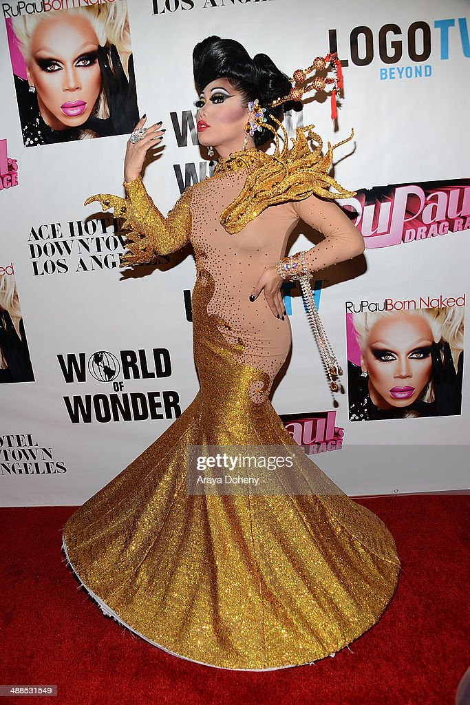 <a gi-track='captionPersonalityLinkClicked' href=/galleries/search?phrase=Gia+Gunn&family=editorial&specificpeople=12482518 ng-click='$event.stopPropagation()'>Gia Gunn</a> attends Logo TV's 'RuPaul's Drag Race' season 6 reunion taping at The Theatre at Ace Hotel Downtown LA on May 6, 2014 in Los Angeles, California.