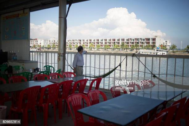 Gia Luan harbour, Cat Ba island, Vietnam.