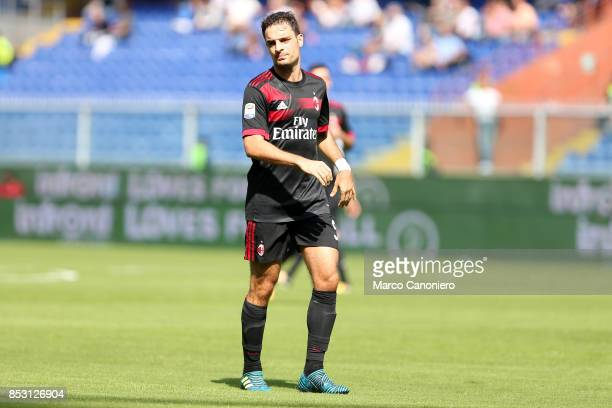 Giacomo Bonaventura of Ac Milan during the Serie A football match between Uc Sampdoria and Ac Milan Uc Sampdoria wins 20 over Ac Milan