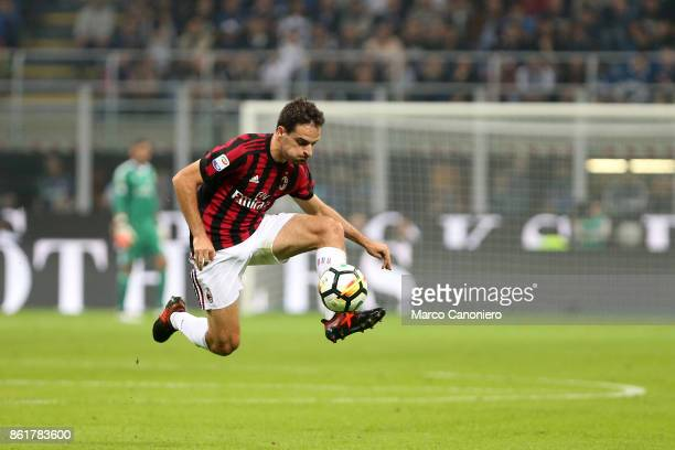 Giacomo Bonaventura of Ac Milan in action during the Serie A football match between FC Internazionale and AC Milan Fc Internazionale wins 32 over Ac...