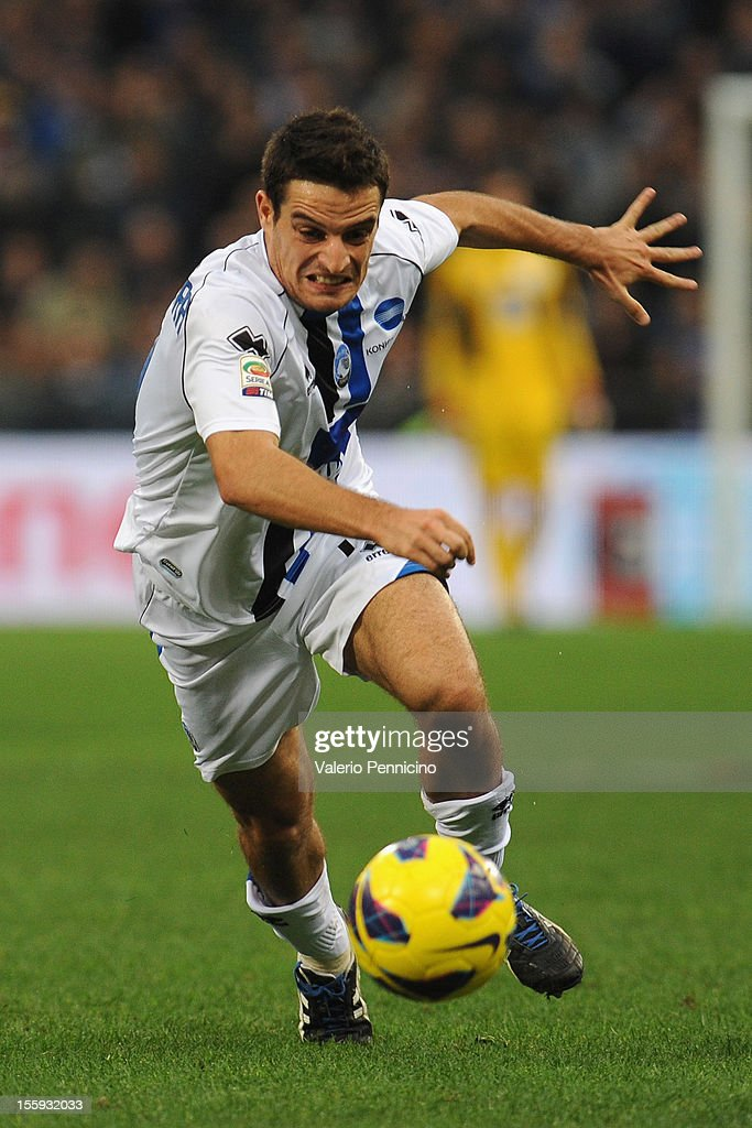 Giacomo Bonaventura of Atalanta BC in action during the Serie A match between UC Sampdoria and Atalanta BC at Stadio Luigi Ferraris on November 4, 2012 in Genoa, Italy.