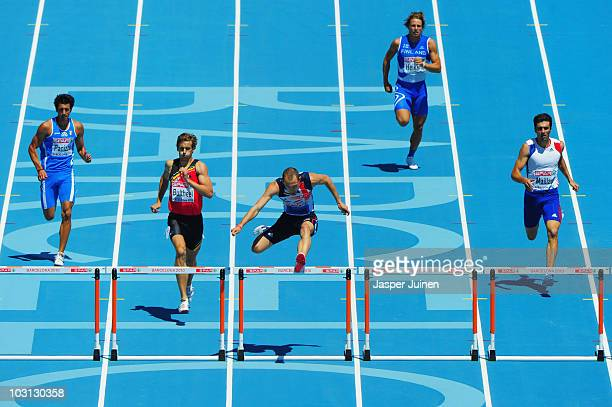 Giacomo Panizza of Italy Michael Bultheel of Belgium Rhys Williams of Great Britain Jussi Heikkila of Finland and Sebastien Maillard of France...