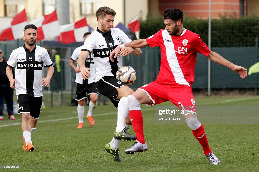 Giacomo Ricci of Parma in action durnig the Serie D match between Correggese Calcio and Parma Calcio 1913 on February 7, 2016 in Valdagno, Italy.