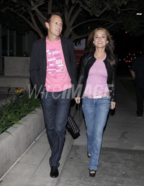 Giada De Laurentiis And Todd Thompson Sighting In Santa Monica On Wireimage 147608789
