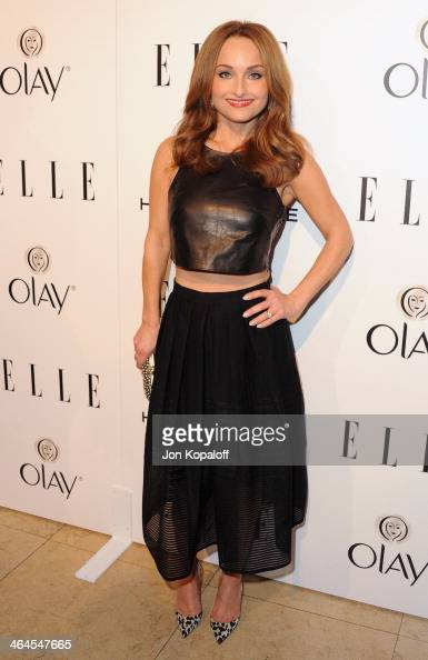 Giada De Laurentiis arrives at the ELLE Women In Television Celebration at Sunset Tower on January 22 2014 in West Hollywood California