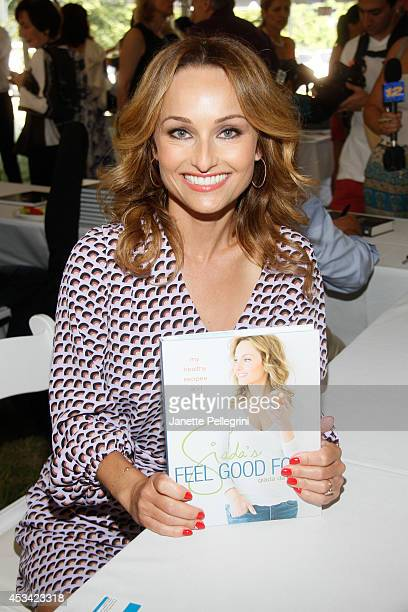 Giada De Laurentiis attends East Hampton Library's Authors Night 2014 on August 9 2014 in East Hampton New York