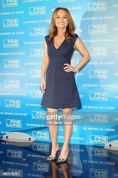 Giada De Laurentiis attends 'Fine Living' TV channel presentation on March 25 2014 in Milan Italy