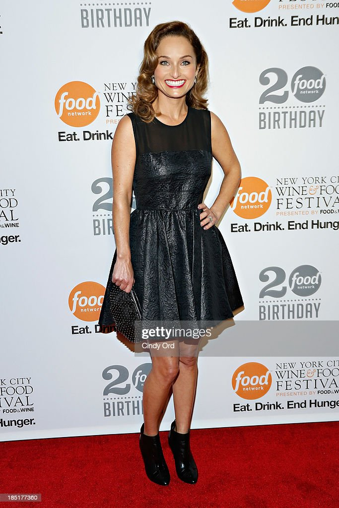 Giada De Laurentiis attends Food Networks 20th birthday celebration at Pier 92 on October 17 2013 in New York City