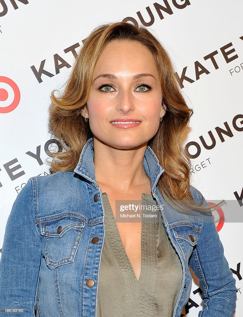 Giada De Laurentiis attends the Kate Young For Target Launch at The Old School NYC on April 9, 2013 in New York City.