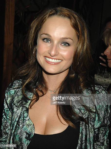 Giada De Laurentiis *Exclusive Coverage* during HBO 2007 Golden Globe After Party Inside at Beverly Hilton in Beverly Hills California United States