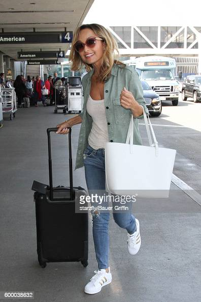 Giada De Laurentiis is seen at LAX on September 07 2016 in Los Angeles California