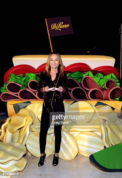 Giada De Laurentiis stops by DI LUSSO at the Food Network and Cooking Channel New York City Wine and Food Festival on October 13 2016 in New York City