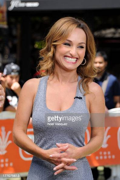 Giada de Laurentiis visits 'Extra' at The Grove on August 20 2013 in Los Angeles California
