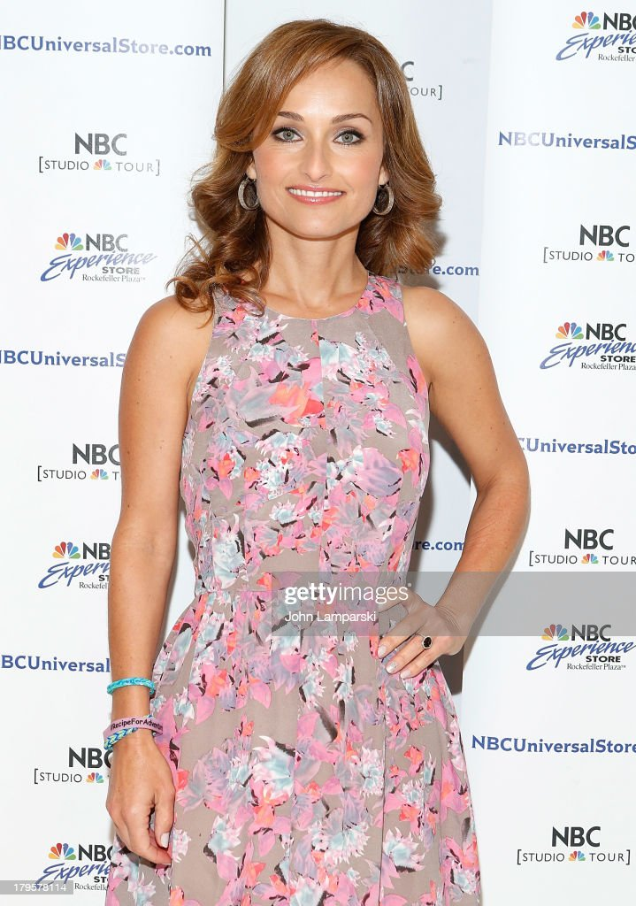 Giada De Laurentiis visits the NBC Experience Store on September 5, 2013 in New York City.