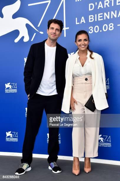 Giampaolo Morelli and Serena Rossi attend the 'Ammore E Malavita' photocall during the 74th Venice Film Festival on September 6 2017 in Venice Italy