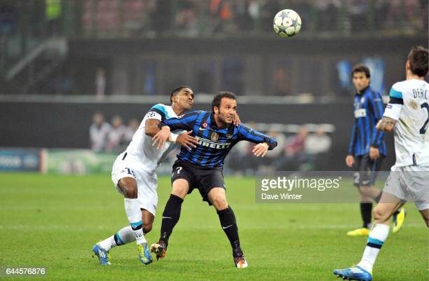 Giampaolo PAZZINI / Franck BERIA Inter Milan / Lille Champions League Photo Dave Winter / Icon Sport