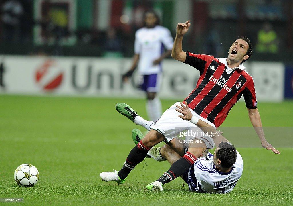 AC Milan v RSC Anderlecht