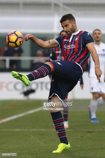 Gian Marco Ferrari of Crotone during the Serie A match between FC Crotone and Empoli FC at Stadio Comunale Ezio Scida on January 29 2017 in Crotone...