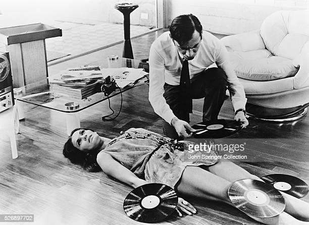 Gian Maria Volonte as a police inspector and Florinda Bolkan as Augusta Terzi in the 1970 crime film Indagine su un Cittadino al di Sopra di Ogni...