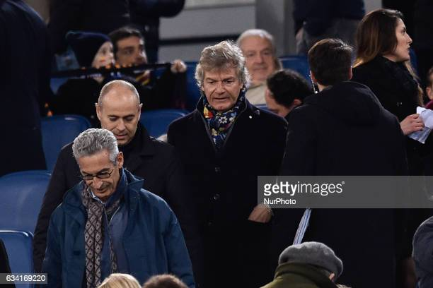 Giancarlo Antognoni during the Serie A match between Roma and Fiorentina at Olympic Stadium Roma Italy on 07 Feb 2017 Photo by Giuseppe Maffia