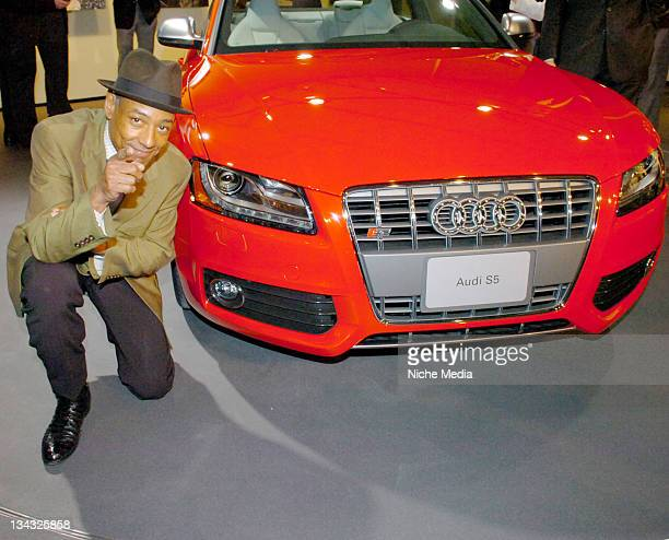 Giancarlo Esposito during Gotham Magazine Somers Farkas and Audi Celebrate the Never Before Seen 2008 Audi S5 with a Party Featuring a Private...