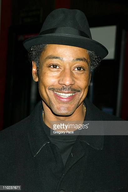 Giancarlo Esposito during 'The Aviator' New York City Premiere Inside Arrivals at Ziegfeld Theater in New York City New York United States