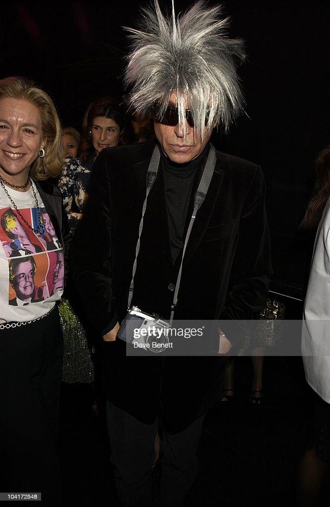 Giancarlo Giammetti, Valentino Party, At The Serpentine Gallery, London