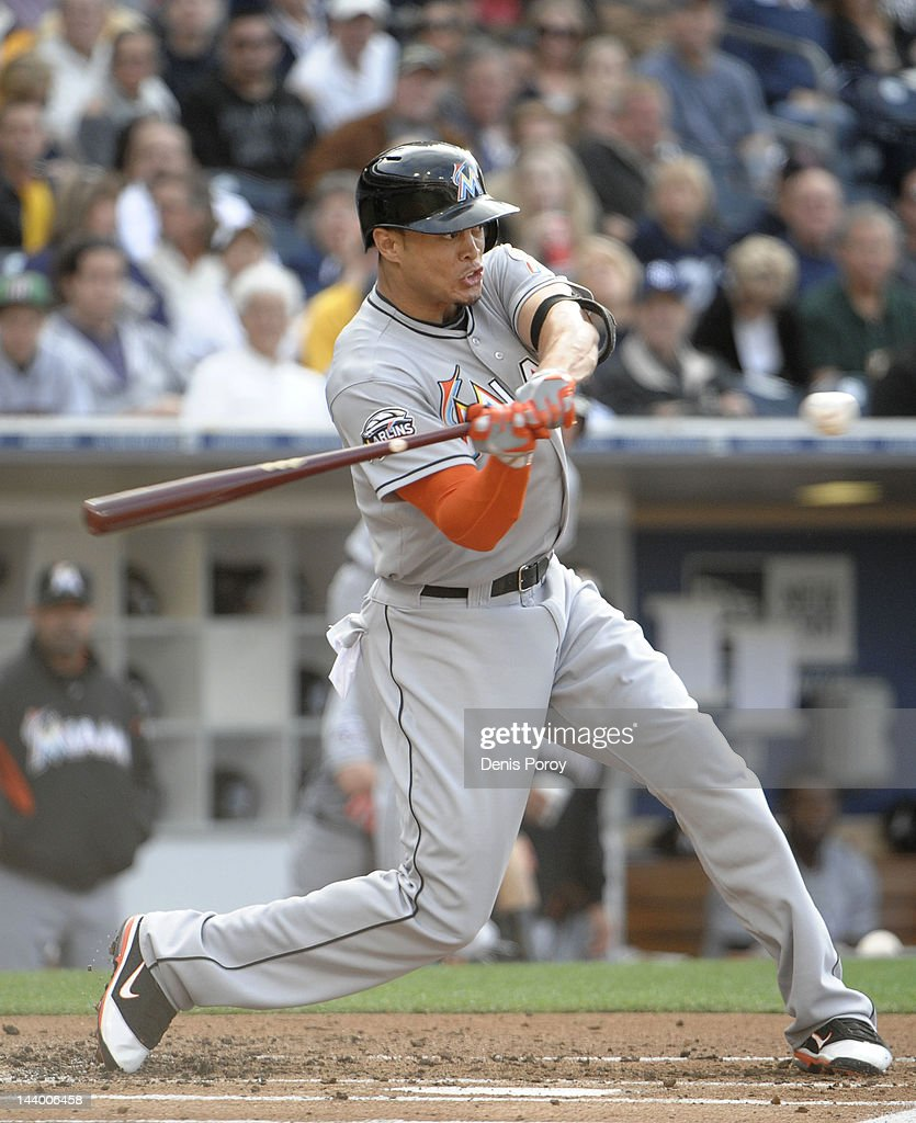 Giancarlo Stanton Of Miami Marlins Says He S Recovering: Miami Marlins V San Diego Padres