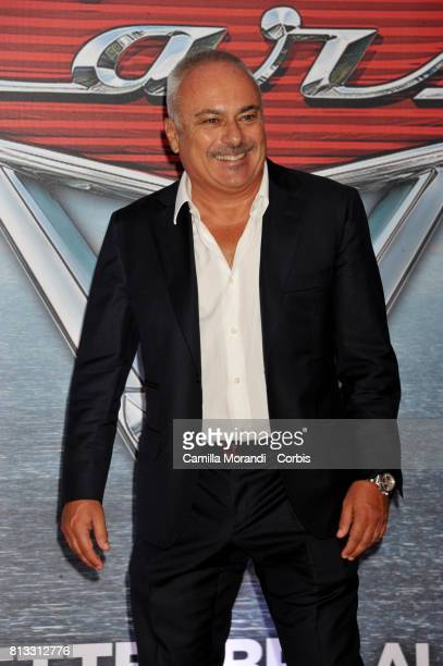 Gianfranco Mazzoni attends a photocall for Cars 3 on July 12 2017 in Rome Italy