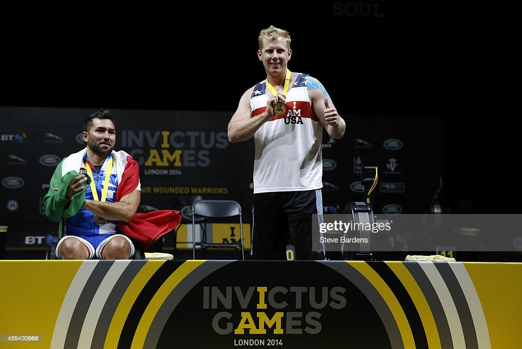 Invictus Games - Day Three - Indoor Rowing