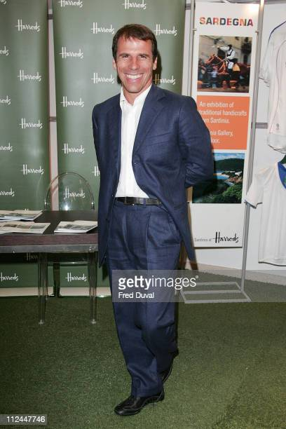 Gianfranco Zola during Gianfranco Zola at Harrods Photocall at Harrods in London Great Britain