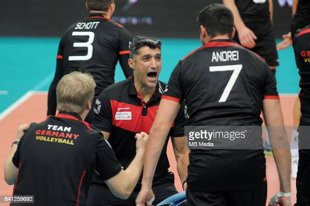 Giani Andrea team coach of Germany during the European Men's Volleyball Championships 2017 match between Germany and Czech Republic on August 31 2017...