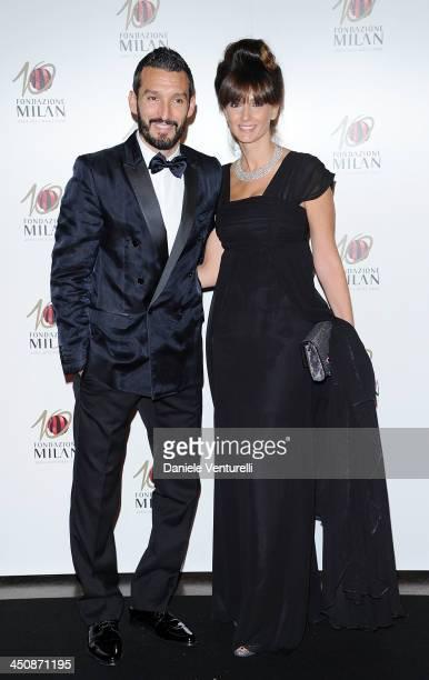 Gianluca and Valentina Zambrotta attend Fondazione Milan 10th Anniversary Gala on November 20 2013 in Milan Italy