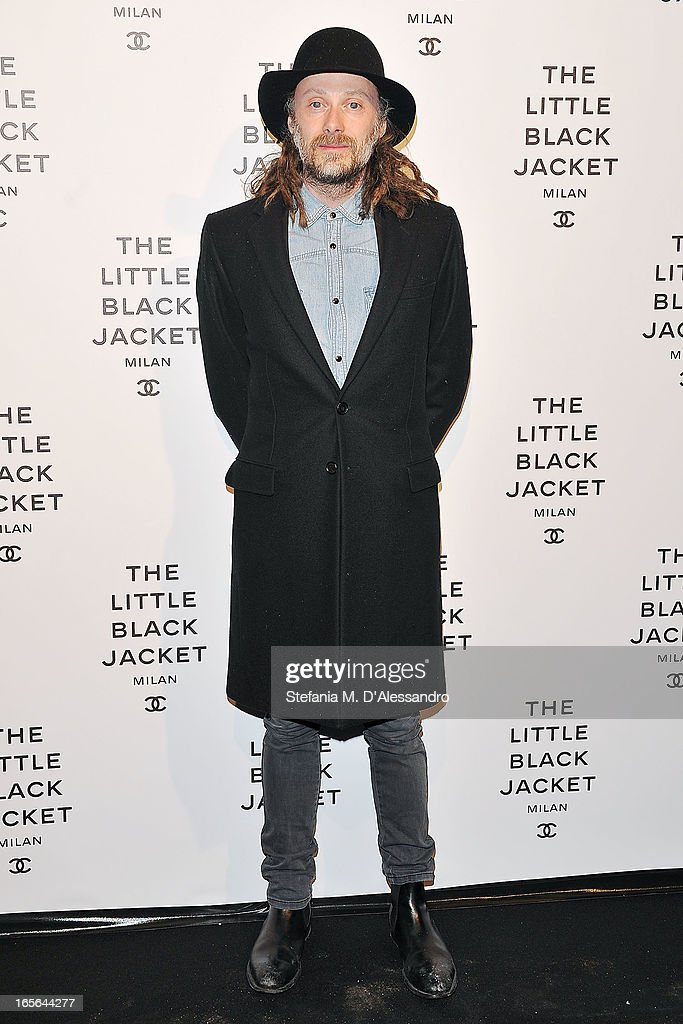 Gianluca Cantaro attends Chanel The Little Black Jacket - Karl Lagerfeld Photography Exhibition Dinner Party on April 4, 2013 in Milan, Italy.